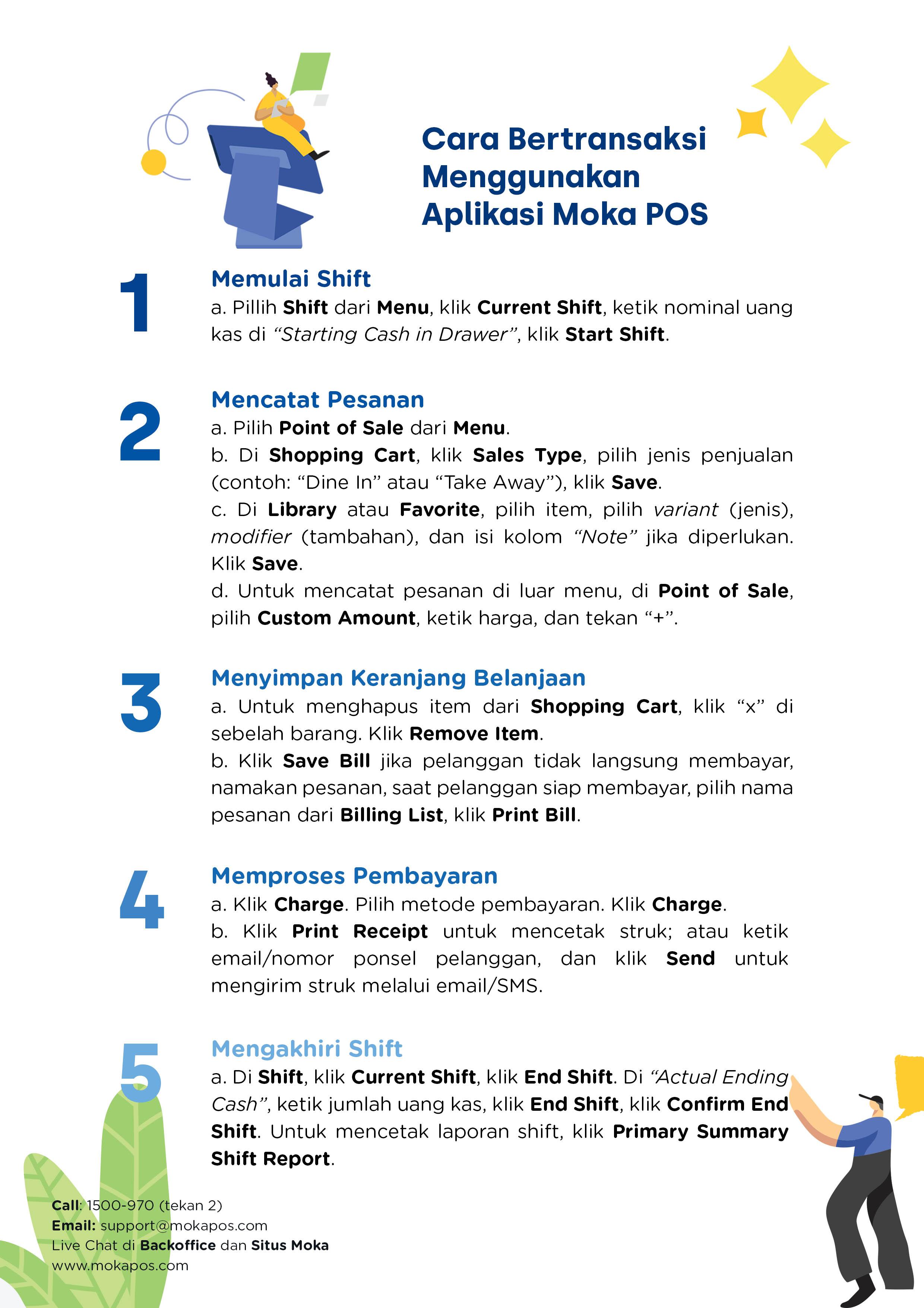 Materi 8 Menggunakan Aplikasi Moka Pusat Bantuan